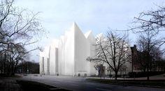 CJWHO ™ (Szczecin Philharmonic Hall by Estudio Barozzi...) #restoration #church #design #architecture #poland #cathedral