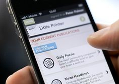 Little Printer | BERG Cloud #print #design #berg #little #service #printer
