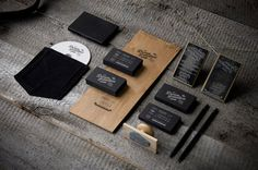 Graphic ExchanGE a selection of graphic projects #stamp #white #black #wood #identity