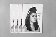 drapht #white #woman #black #hat #and #magazine