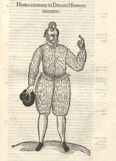 000137 #naturalism #aldrovandi #illustration #latin #ulisse #monster #drawing
