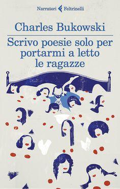 Emiliano Ponzi's award-winning covers for Charles Bukowski books #cover #illustration #book