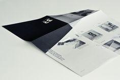 fold brochure / 3R on the Behance Network #brochure #concrete #fold