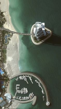 Aerial Wallpapers #dubai #aerial #photography #sea #blue #beach #coast