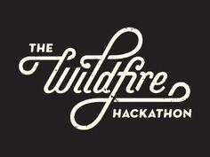 Hackathon_clean #lettering #script #wildfire #hackathon