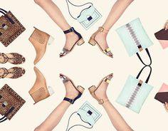 Meghan Larmier - Loeffler Randall Resort '14 #kaleidoscope #print #graphic #poster #fashion