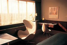 Room 606 by Arne Jacobsen 4 #interior #jacobsen #arne