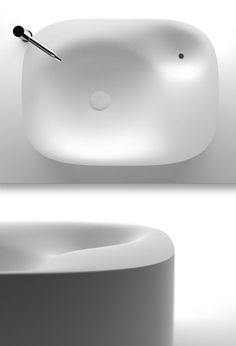 'nivis' wash basin by shiro studio for agape #interiors #fixtures
