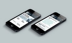 Responsive design - Argentum Group by Ascend Studio #responsive #website #legal #mobile #law