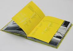 Flatmate's Handbook #yellow #design #book #ins #rules #type #tip #list #typography