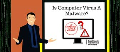 A virus is a small part of the broad umbrella of system threats knows as Malware. The term Malware is a unification of malicious and software so computer virus and malware protection is must to know.