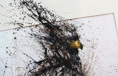 Zoom Photo #eagle #hua #tunan #painting