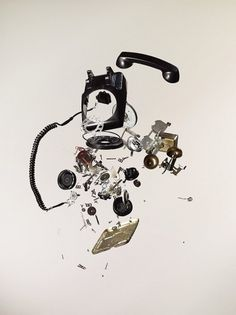 Todd McLellan— « Because I Can #photography #telephone