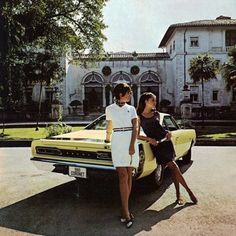 Women and cars « . . . #retro #women #cars #luxury #beauty