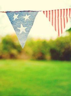 Bunting #faded #bunting #americana #america