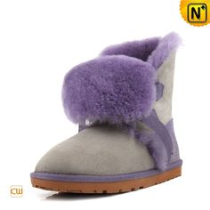 Shearling Snow Boots for Women CW314417 #boots #shearling #snow