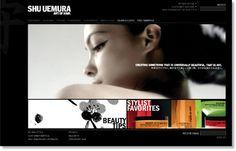 Shu Uemura #design #web