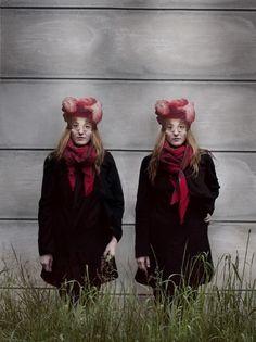 Maia och Flore : Maia Flore #twins #fantasy #dream