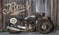 BMD #vintage #bike #typography