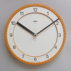 braun clock ABW 30, 1981 #clock #dieter #braun #rams