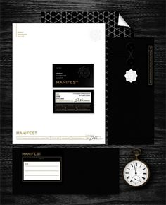 Eight Hour Day » Manifest #stationary #card #identity #business