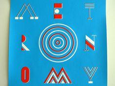 Metronomy #lettering