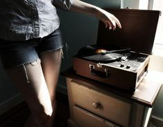 Fine Art Photography by Haley Jane Samuelson | Professional Photography Blog #vynil