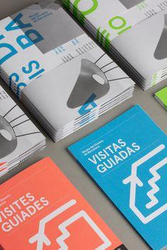 DHUB Leaflet (Print, Identity) by Lo Siento Studio, Barcelona #print #leaflet #brochure