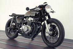 Black CB750 #cb750 #honda #motorcycle