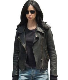 The Defenders Krysten Ritter leather jacket