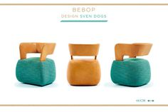 BEBOP Armchair Design by SVEN DOGS #interior #design #decor #home #furniture #architecture