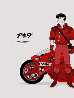 Akira #japanese #scifi #80s #katsuhiro #otomo // CALC