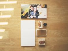 Dribbble - A&J - Save The Dates by John Choura Jr. #stamp #save #date #the #gold