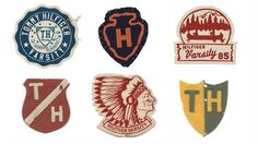 Hilfiger Patches on the Behance Network #vintage #type #logo #patch