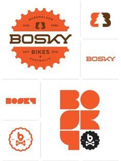 Allan Peters #mark #allan #word #orange #peters #brown #bike #logo