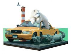 Paintings - #painting #josh keyes