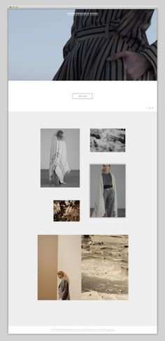 Urban Research Rosso website