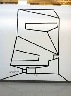photasdfo.jpg 968×1296 pixels #tape #poster #art #blauvelt #walker