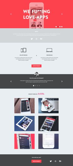 Agency_page #web