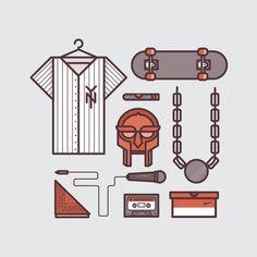 hiphop art print - www.lucasjubb.co.uk