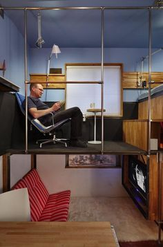 This engineer's 182 sq. ft. home challenges the limits of what a small space dwelling should be!
