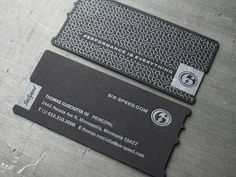 Six Speed Biz Cards – Crushed AND Burned « Beast Pieces