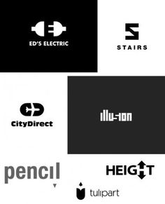 Seeing The Negative In Everything: Charles Goslin - Noupe Design Blog #negative #logos #space