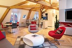 Surprising Apartment Design in Paris: Le Loft des Innocents