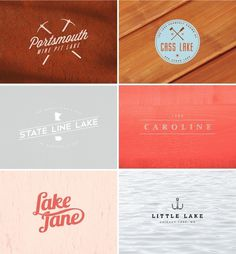 lake logos
