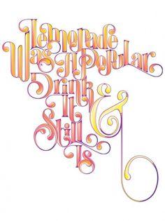 33_lemonade4.jpg 522×696 pixels #lettering #lemonade #typography