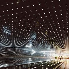Technosoul #perspective #lights #tunnel