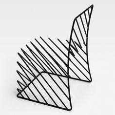 Dezeen » Blog Archive » Thin Black Lines by Nendo #creative #lines #design #black #furniture #wire #nendo