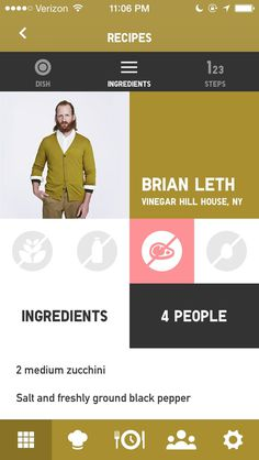 UNIQLO RECIPE #iphone #ui