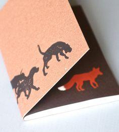 Fox & Hound Notebook – Pack of 2